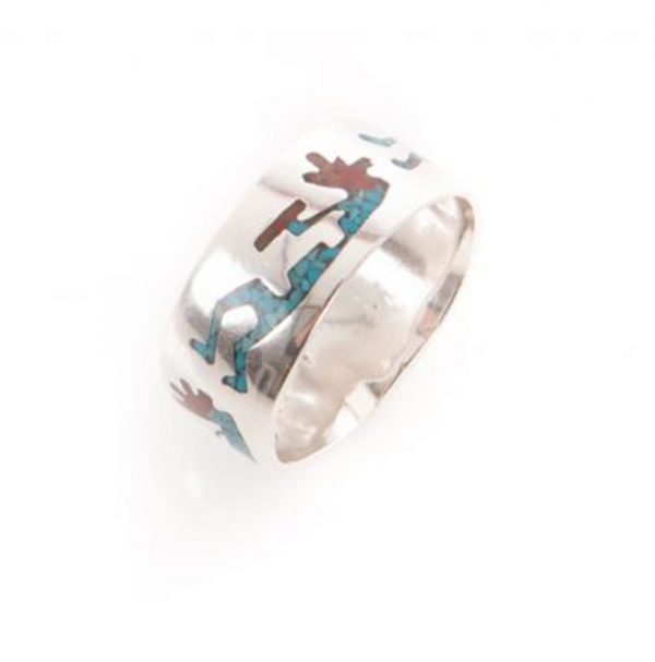 Navajo Kokopelli Ring