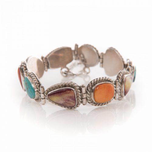 Navajo Multi Stone Tennis Bracelet