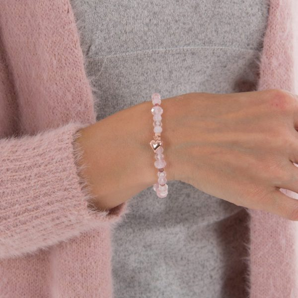 Heal The Heart Rose Gold Bracelet