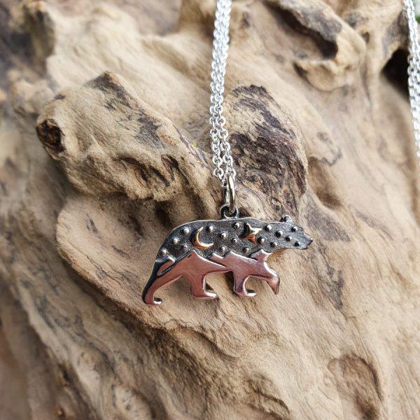 Celestial Bear Totem Necklace