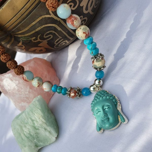 Blue Buddha Necklace