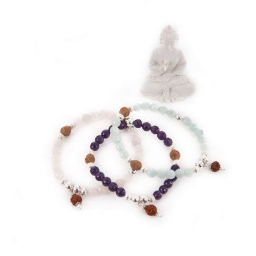 Gemstone Meditation Bracelet