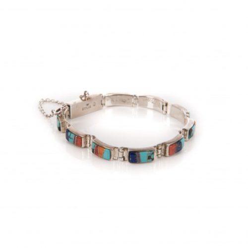 Navajo Inlay Tennis Bracelet