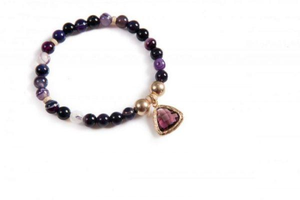 Higher Chakra Gemstone Bracelet