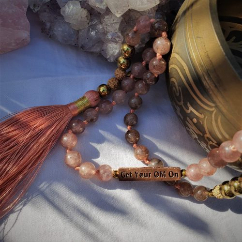 I Am Love Quartz Mala