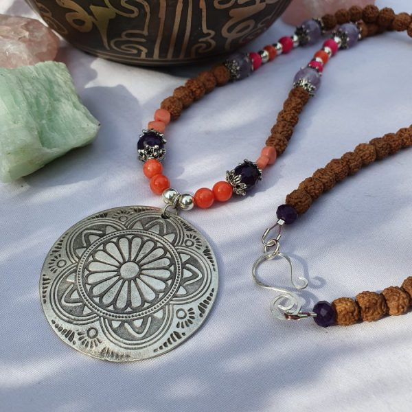 Mandala Mala Necklace