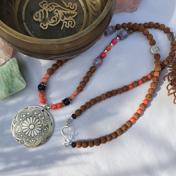 Mandala Mala Necklace