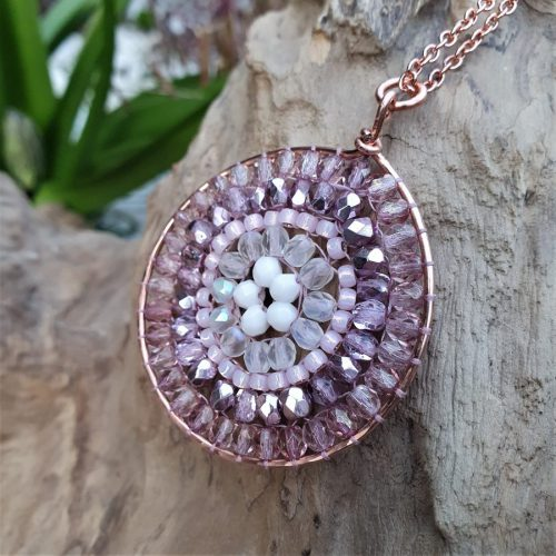 Rose Mandala Necklace