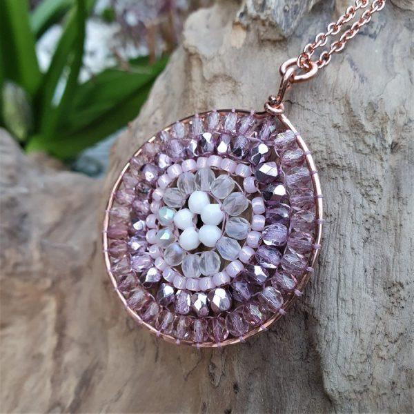 Rose Mandala Necklace