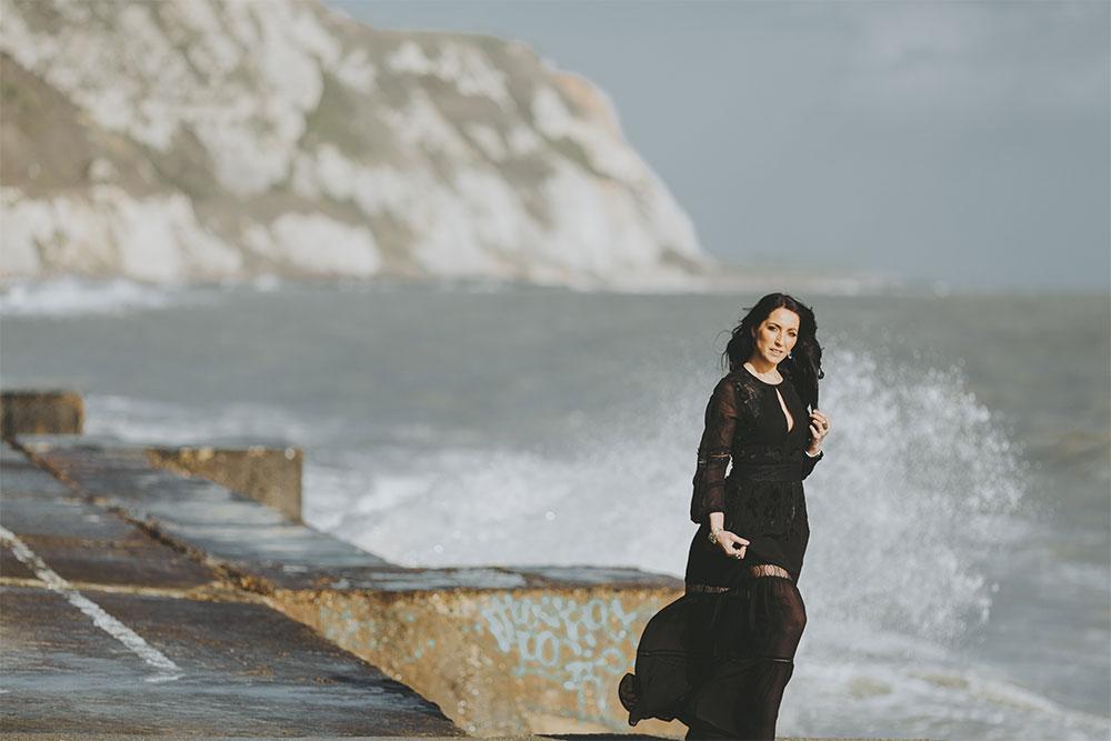 Elizabeth by the sea