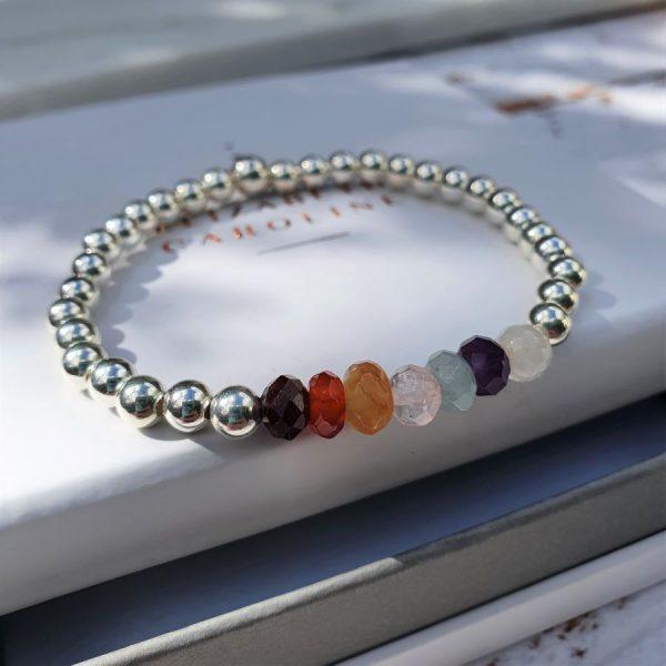 Gemstone chakra jewellery