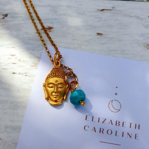 Turquiose Buddha Necklace