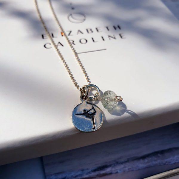 Yoga Dancer Gemstone Necklace