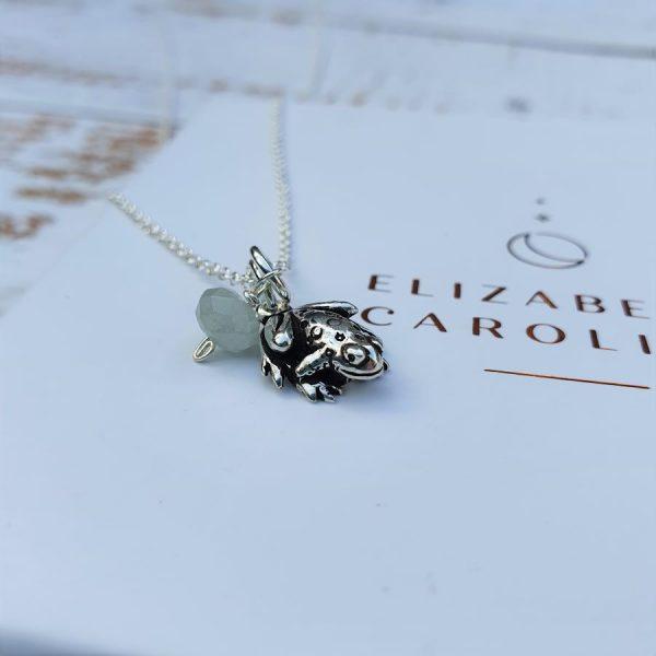 Frog animal totem necklace