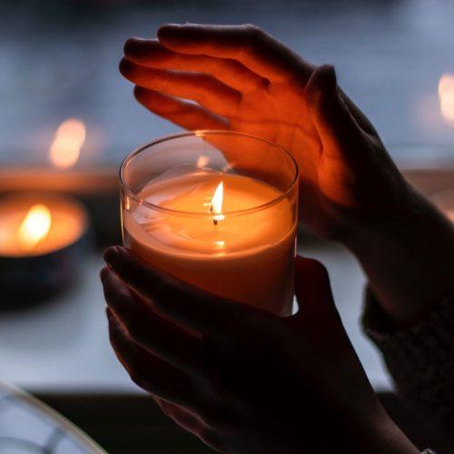 Elizabeth Caroline Meditation Candle