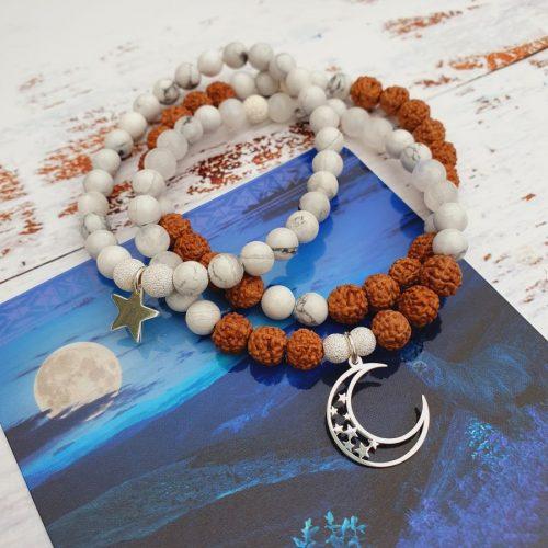 Elizabeth Caroline Celestial mala jewellery