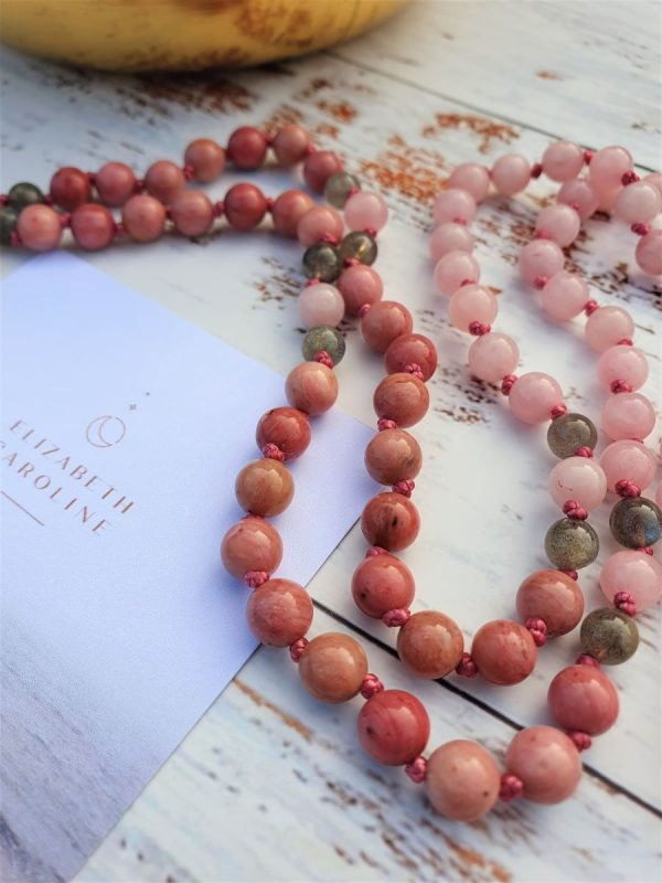 Heart Centre Mala necklace by Elizabeth Caroline