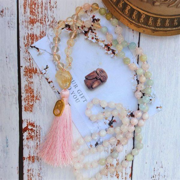 Elizabeth caroline mala beads uk