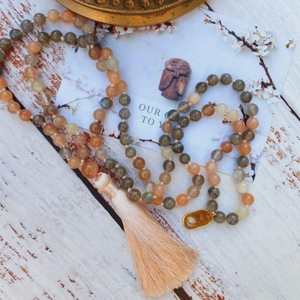 Sacred Mala beads in the UK