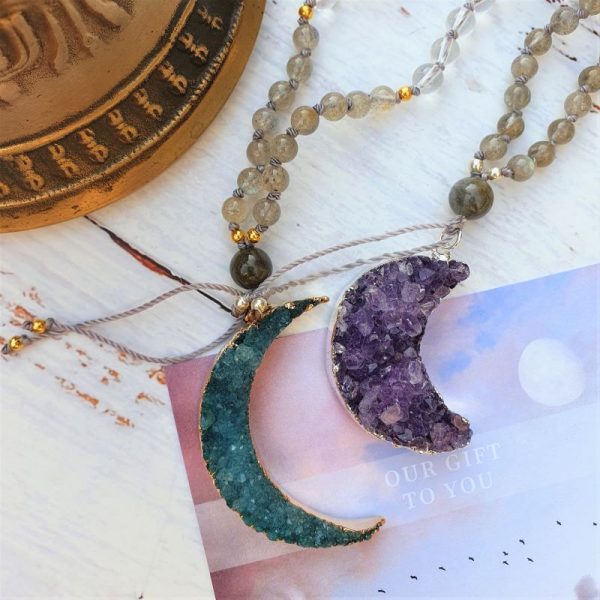 Moon gooddess Mala Jewellery