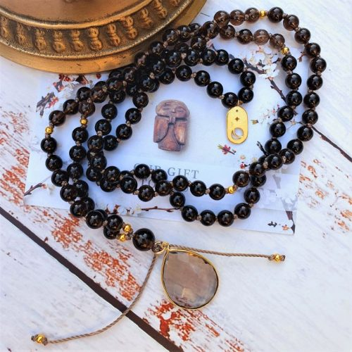 Grounded with grace mala necklace