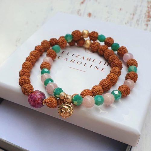 Elizabeth Caroline Spiritual gemstone bracelets