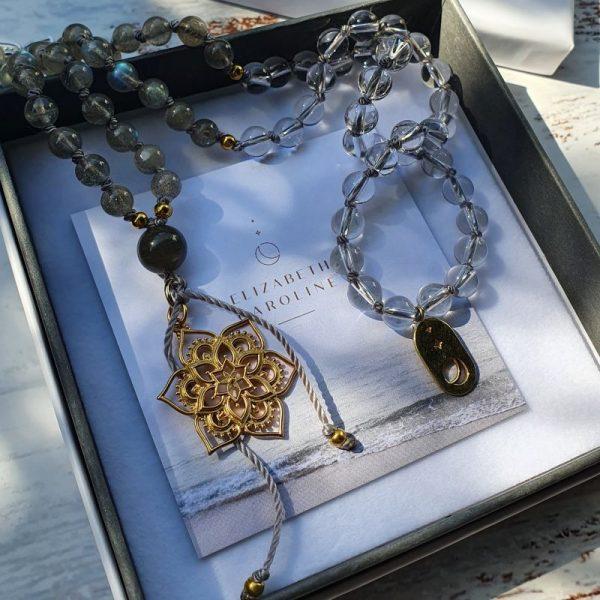 Labradorite Mala Beads